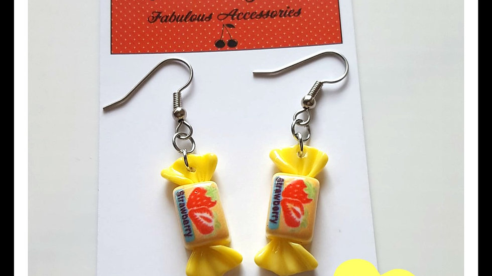 Retro Sweet Earrings