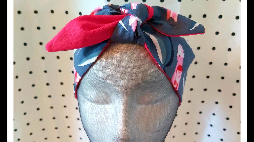 Galah Print Rosie Hair Wraps