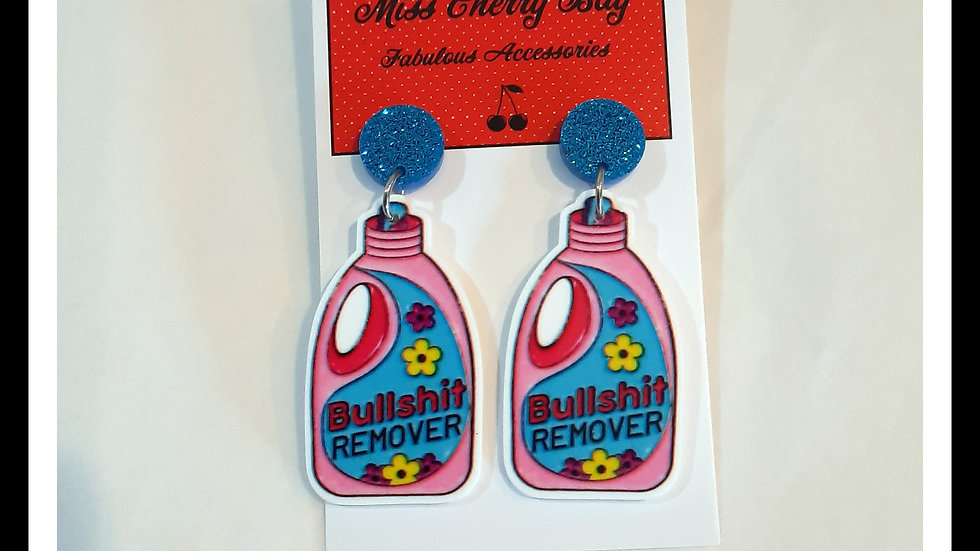 Bullshit Remover Earrings