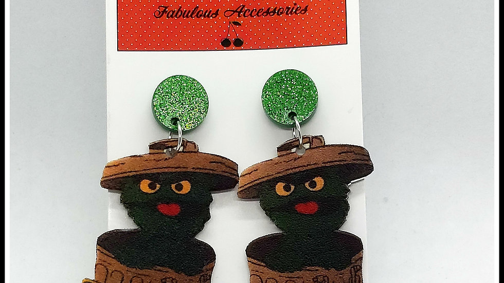 F Off Grouch Earrings