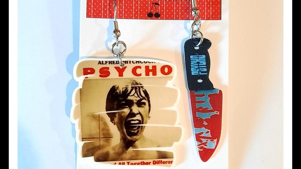 Psycho Earrings Set