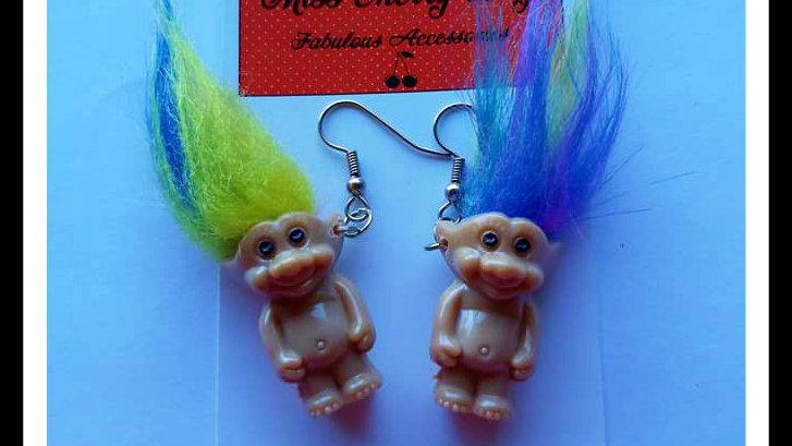 Retro Troll earrings