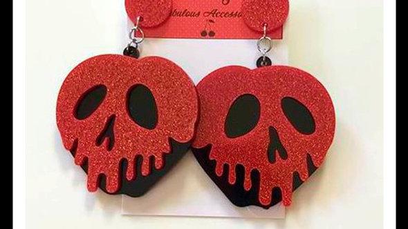Poison Apple Earrings