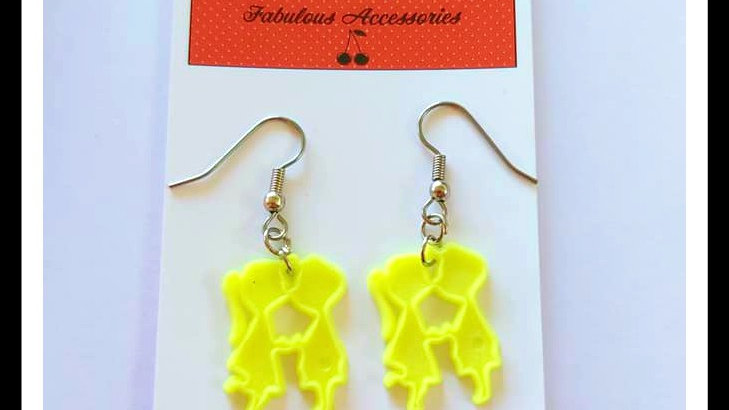 Retro Kissing Cousin Earrings
