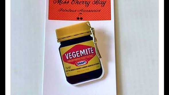 Novelty Vegemite Brooch