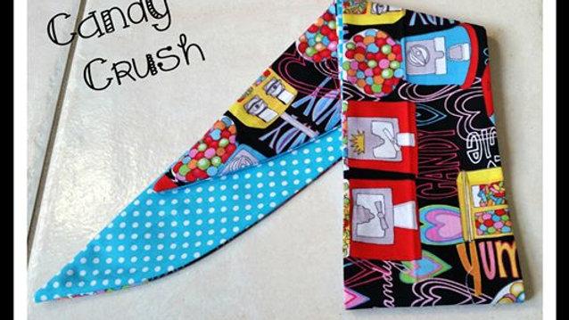 Candy Crush Rosie Hair Wrap