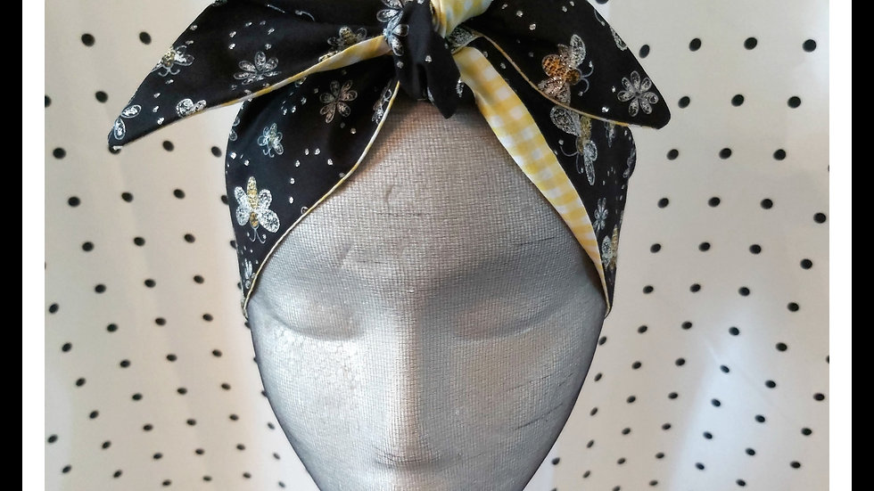 Glitter Bee Rosie Hair Wraps