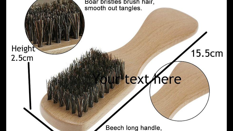 Pocket size Moustache/Beard Brush