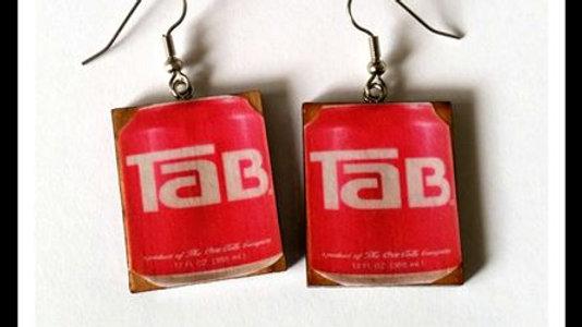 Wooden TAB earrings