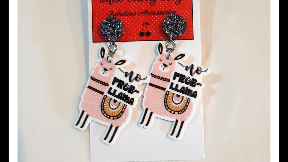 No Prob-Llama Earrings