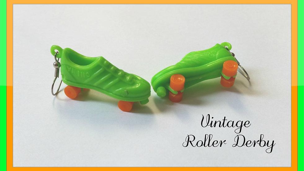 Retro Roller Skate Earrings