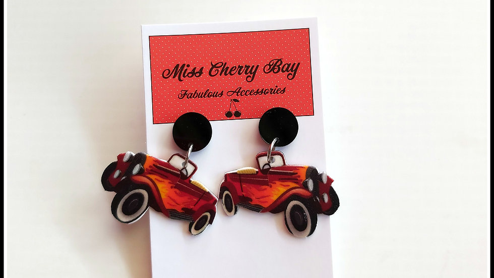 Hot Rod Earrings