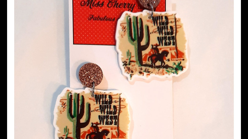 Wild Wild West Earrings