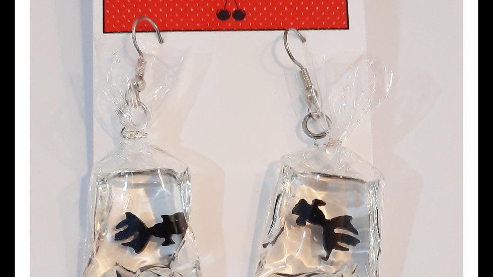 Showbag Goldfish Earrings