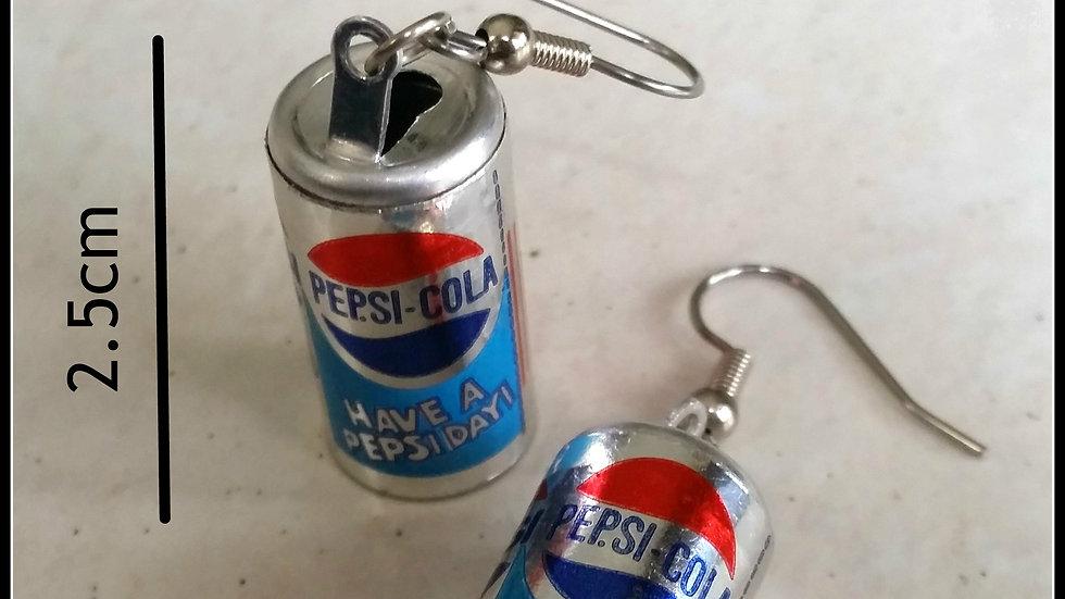 Retro Pepsi-Cola Token Earrings