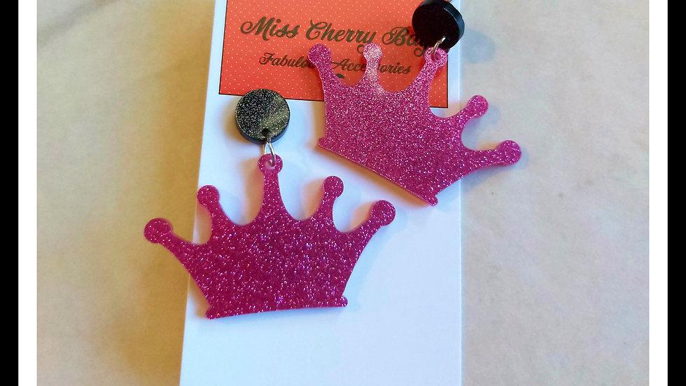 Fabulous Glitter Crowns