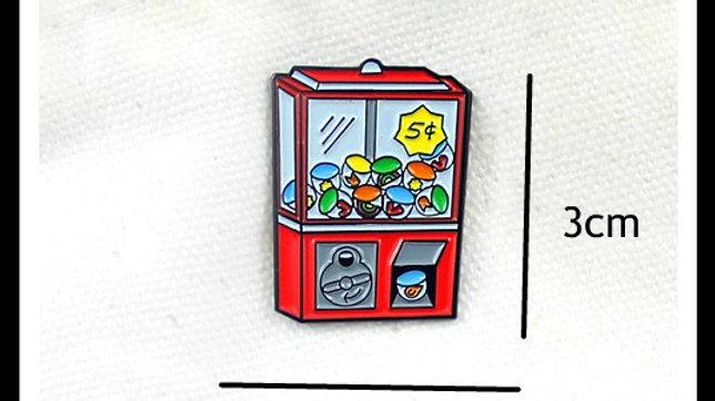 Retro Gum Ball Lapel pin