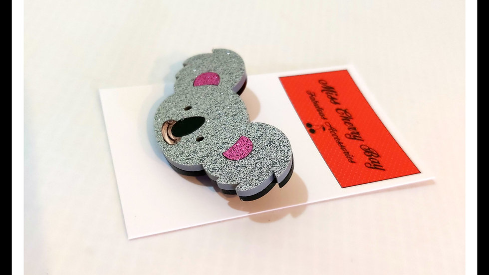 Koala Love Brooches