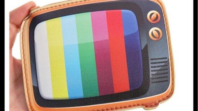 Retro Tv Style Coin Purses