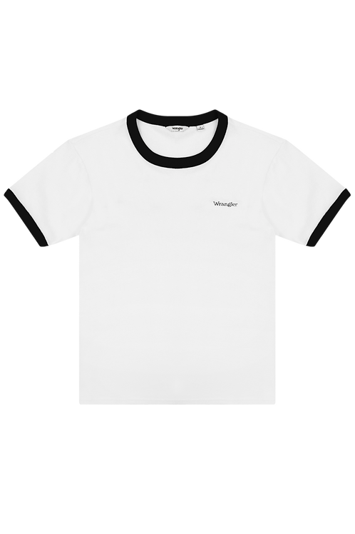 Relaxed Ringer Tee Faded Black