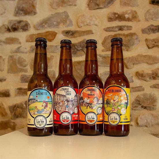 Bière Bio La lie 33cl