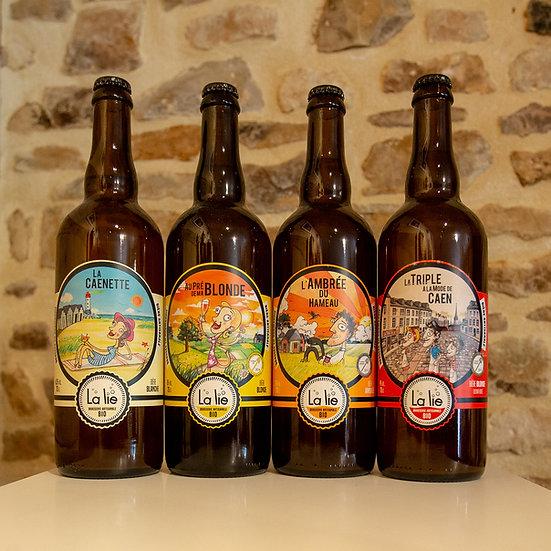 Bière Bio La lie 75cl
