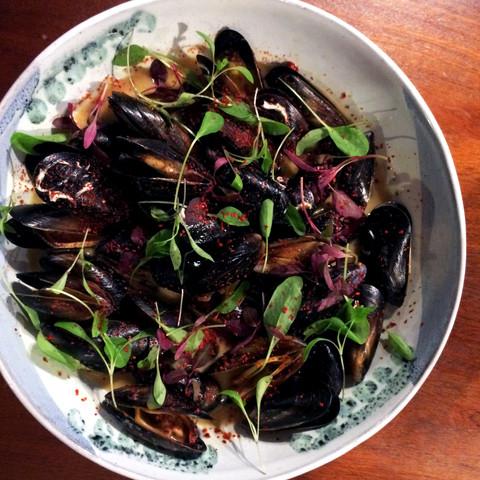 mussels (specials)