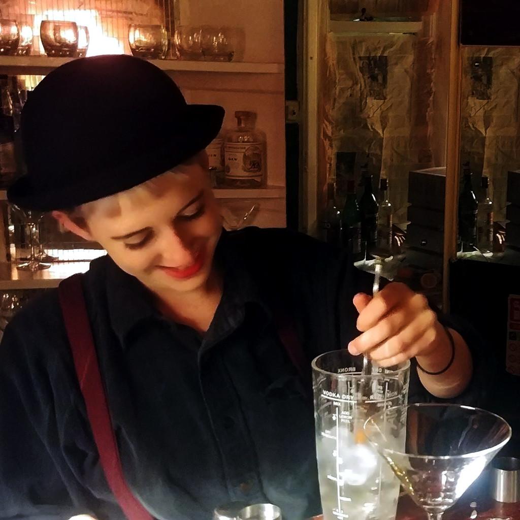 speakeasy cocktail night