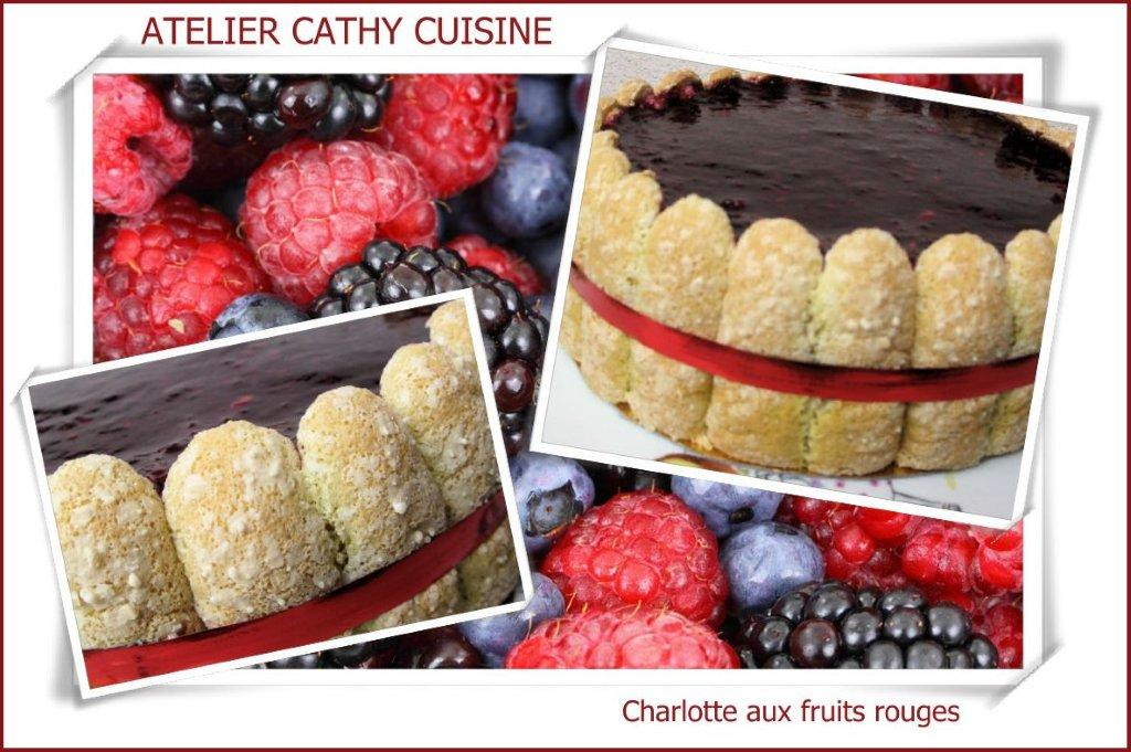 Charlotte aux fruits rouges