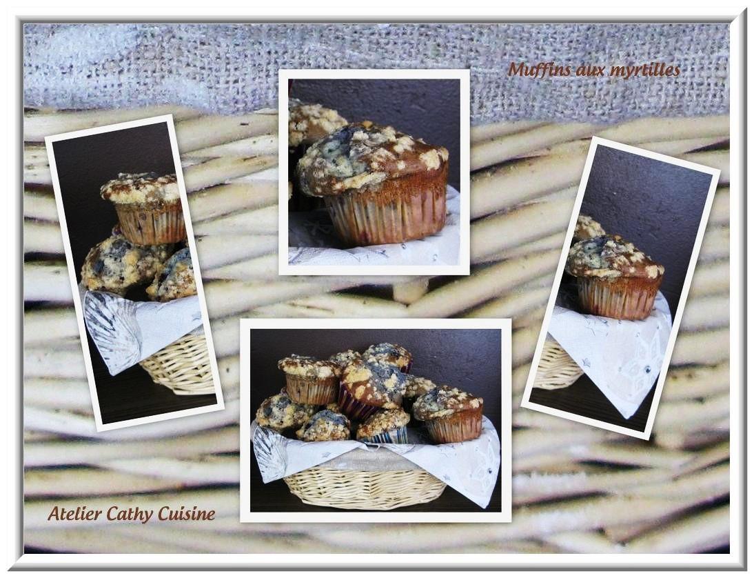 Les muffins myrtilles