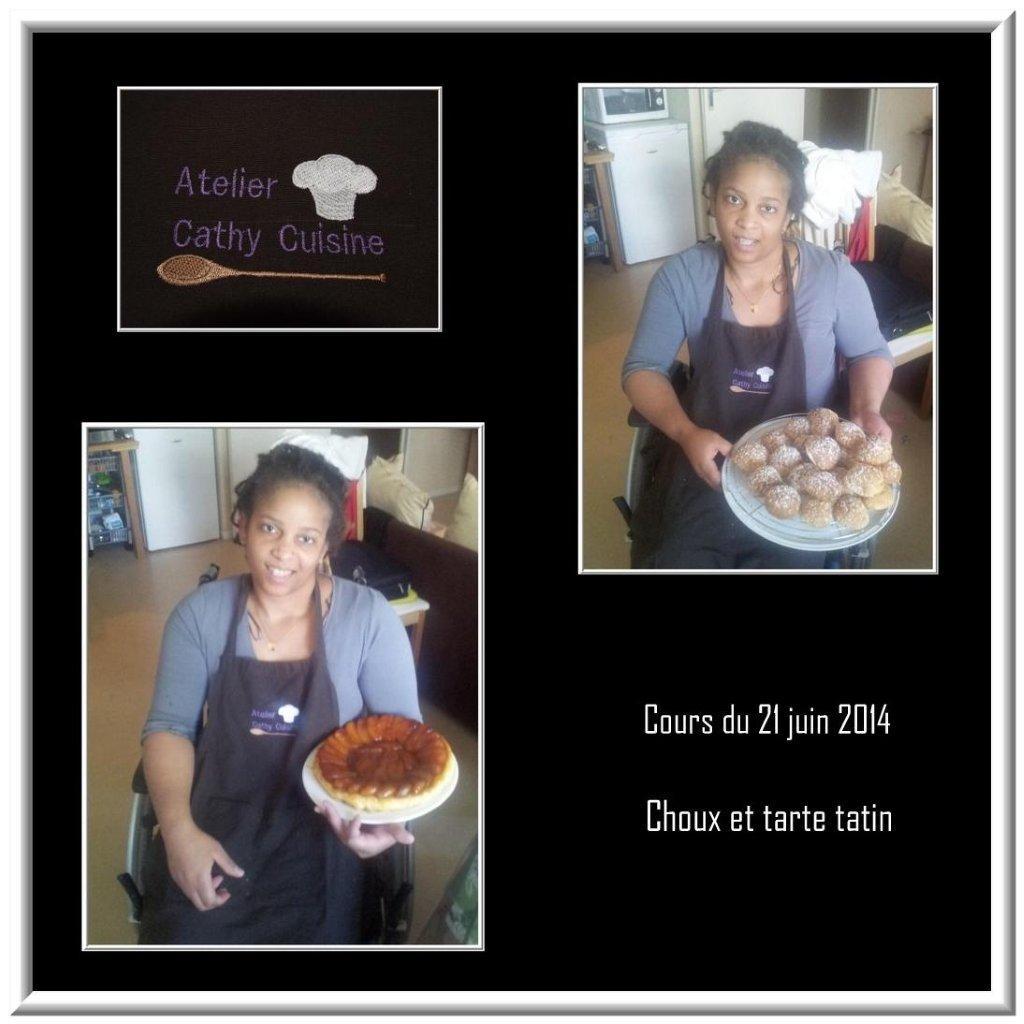 Cours choux et tarte tatin