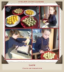 Macarons avec Lucie