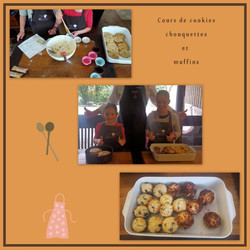 Cours:cookies,chouquettes et muffins