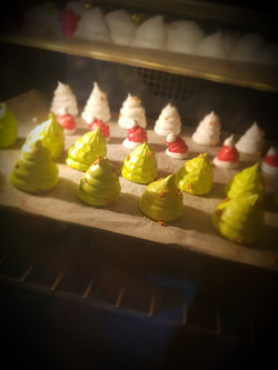 Meringues décoration Noël!!