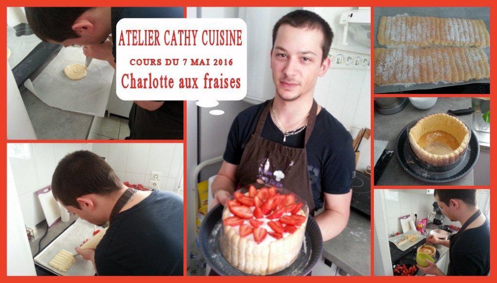 Cours charlotte aux fraises
