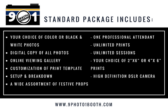 photo booth package