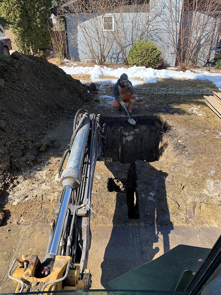 Cistern Edmonton, Residential Excavation Edmonton - Strathcona Excavation