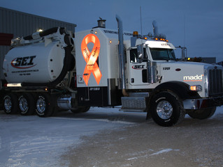 SEI Hydrovac Truck Collaboration with our proud partner MADD Canada