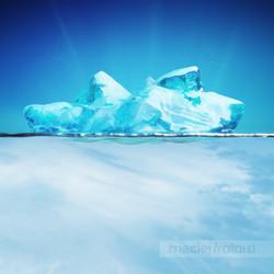 Illustration MaciejFrolow 3D iceberg