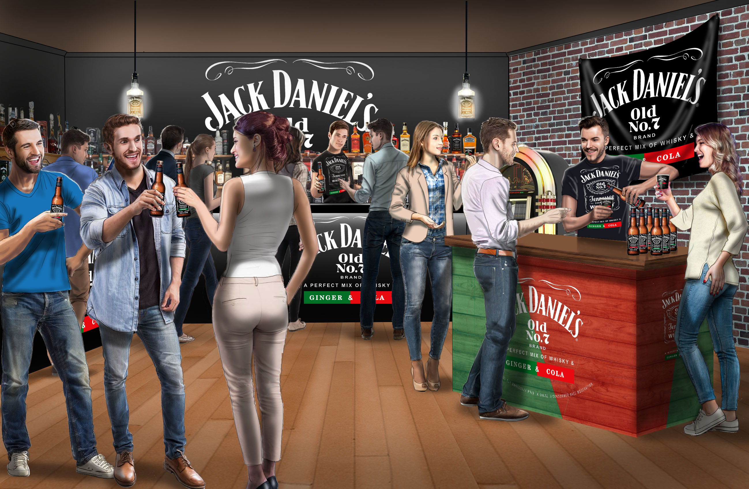 2018.11 Rough Ideactif JACK DANIELS