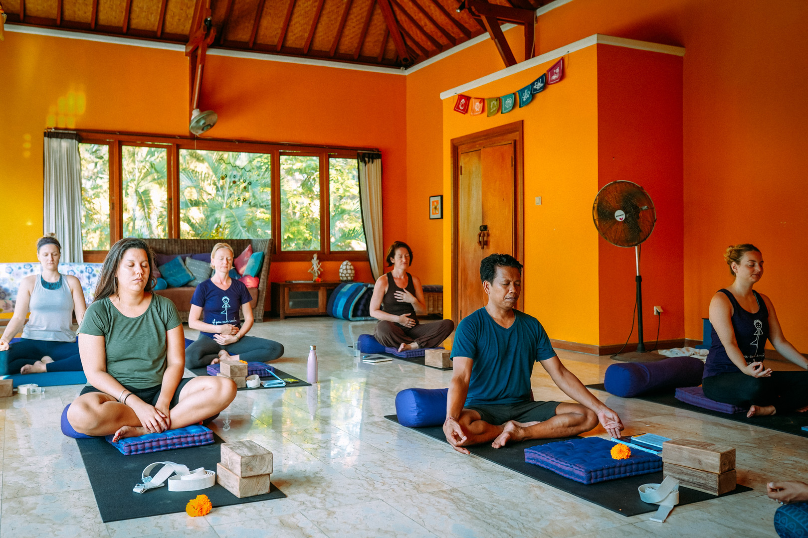 Yoga Teacher Training Glimpses