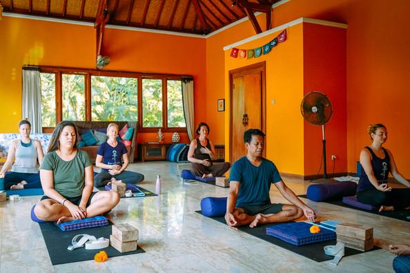 Yoga Teacher Training Glimpses