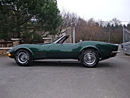Corvette convertible 1972