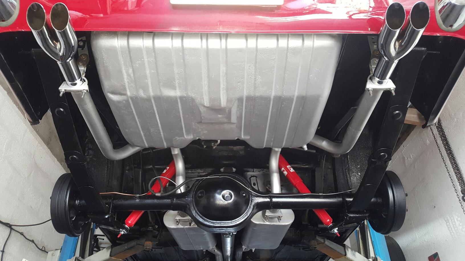 Mustang cabriolet 1968 289 ci