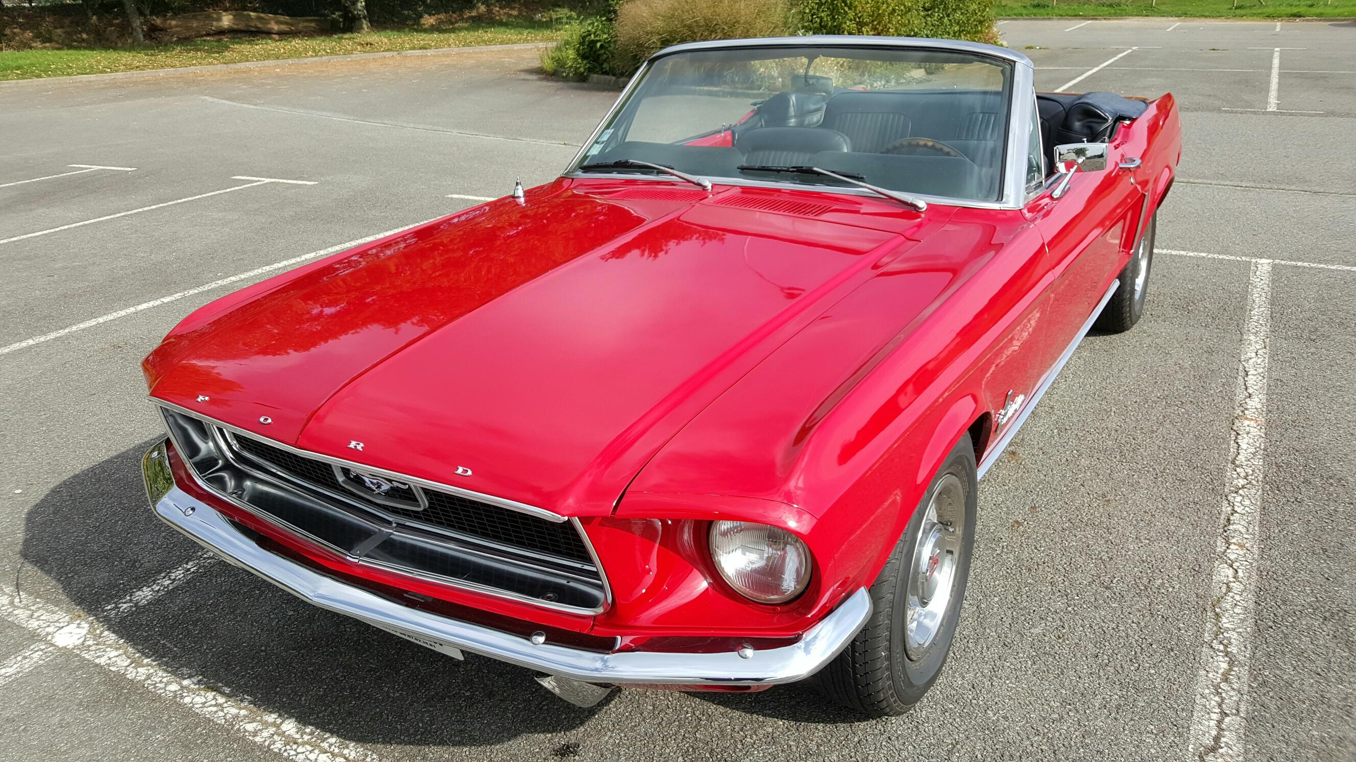 mustang cabriolet 1968 av