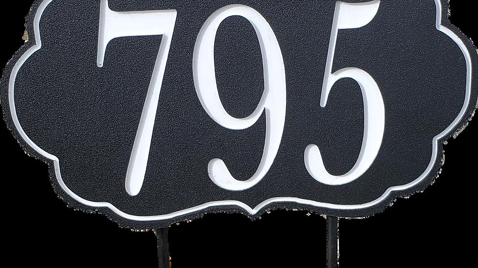 7x12 Address Sign