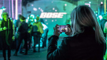 #Liveinthecube #listenforyourself BOSE party