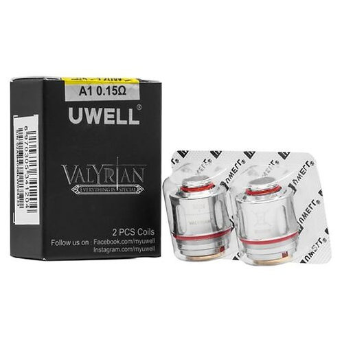 Uwell Valyrian Replacement Coils 0.15 ohm 2pcs
