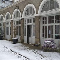 Chez Simon sous la neige