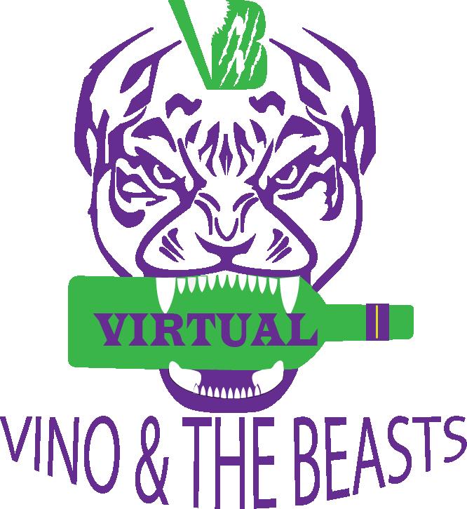 Virtual Vino and the Beasts Purple Head.